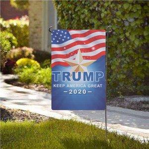 1PC Donald Trump 2020 Garden Bandiera Keep America Great Again esterna del giardino di Prato divertente Decoration Bandiere 30x45cm