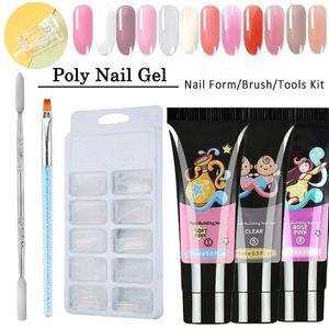 УФ-лак Kit Crystal Clear Лак для ногтей Art Supplies польский Набор Акриловая Art Kit Quick Dry аксессуары