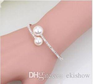 Vendita a buon mercato Accessori da sposa e bracciali Accessori da sposa Set di strass Accessori da sposa formali Braccialetti Braccialetti