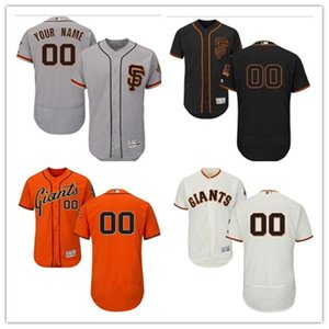 custom any name number free ship Baseball Jerseys San Francisco FranciscoGiants Giant men women youth red white high-quality jersey