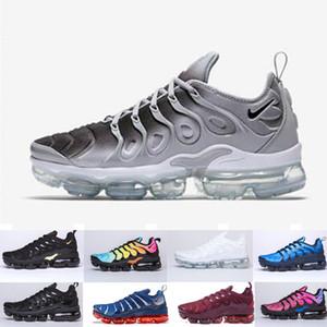 TN Artı Erkekler Kadınlar Için Koşu Ayakkabıları Kraliyet Smokey Leylak Dize Colorways Zeytin Metalik Üçlü Beyaz Siyah Eğitmen Spor Sneakers QW98