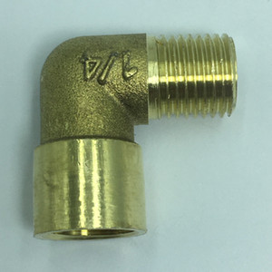 90 Degrees Brass Quick Disconnect Hose Piece Adapter For Hoses