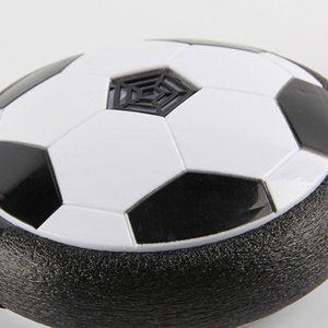 1pc Funny LED Light Flashing Air Power Soccer Ball Disc Indoor Football Toy Multi-surface Hovering Gliding Toy Kids Sports Toys