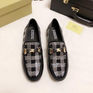 2020 Designer NEW Mens Shoes Trainers Sneakers BALLY Men's Business Casual Shoes 38-46 8588