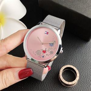 Luxus-Frauen-Uhren Edelstahl weibliche Uhrquarz Damen-Armband-Armbanduhr-qualitydress Uhr Reloj Mujer Weiblich femme