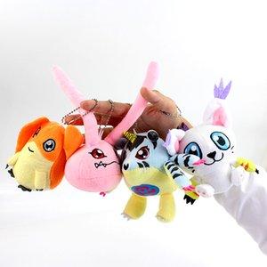 8styles Digimon Plush Toy Patamon Palmon Piyomon Tailmon Gomamon Koromon Gabumon Agumon Macio Stuffed Boneca Plush Pendant Keychain