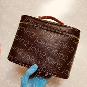 TROUSSE DE TOILETTE NICE BB Trousse de toilette de qualité supérieure pour femme, sac de maquillage, trousse de toilette, sac, cuir, imperméable, doublure lavable