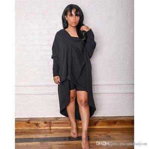 Mode Robes Printemps Automne Designer Slash Neck Ladies Casual Dress Loose Women Vêtements froncée Femme Pure Color