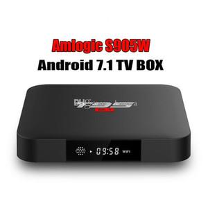 Т95 С1 коробки TV сердечника квада S905W умная коробка 1 ГБ 8 ГБ Андроид 7.1 медиа-плеер 2.4 г WiFi 4К 1080р лучше TX3 X96 X92 мини