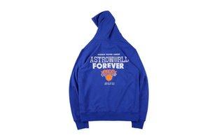 Sudaderas 19SS Otoño Invierno negro con capucha naranja Hombes Sudaderas Tops Wish You Were Oye hombre Knicks