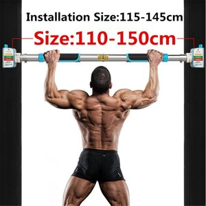 200KG Door Horizontal Bars Steel Home Gym Workout Chin push Up Pull Up Training Bar Sport Fitness Sit-ups Equipments Heavy Duty