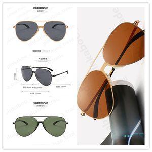 Lentes Fashion Style Sunglasses Mulheres Luxo sunproof Óculos de aço inoxidável polarizada resistente a UV Men Esportes Praia Oval Óculos LY506