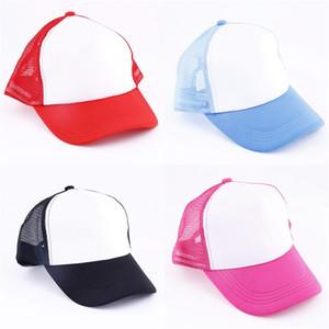 Blank Baseballmütze Customized Sublimation Blanks-Hut-Hysterese Sonnenschutz Geschenke für Geschäftsaktivitäten 4 5xma UU