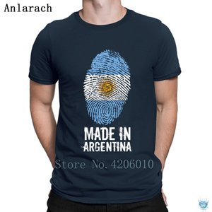 Made In Argentina Tshirt Loose New Fashion Tshirt For Men Designer Hip Hop Letters Fun