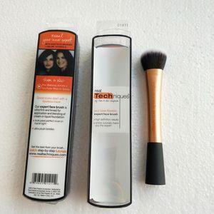 Kum saati Kozmetik Vanish Sorunsuz Finish Vakfı Fırça Orijinal Kalite Kaymaklı BB astar Kabuki Makyaj Fırçalar Sentetik Saç