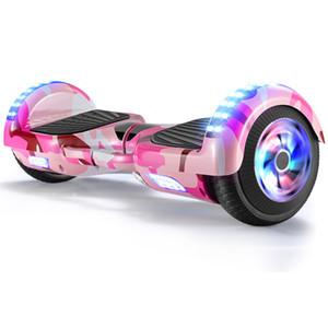 Hoverboard mit Bluetooth-Lautsprecher LED-Zweirad Twist Autoreise Bluetooth Laufschrift Auto gefackelt Autorad Ausgleich Smart Hoverboard