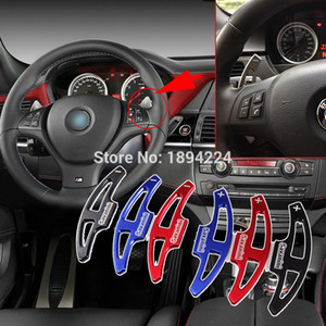 2pcs High Quality Car Steering Wheel Shift Paddle Shifter Extension For BMW X6 M 2010-2014