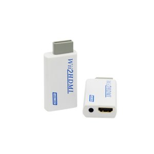 Free DHL Wii Hdmi Adapter Wii2HDMI wii to HDMI Converter Full HD 1080P 3.5mm Audio Video Output
