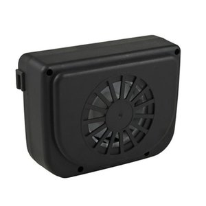 Eco-Friendly Solar Power Mini Air Conditioner Car Easy To Install Air Vent Cool Fan Car Conditioner Ventilation