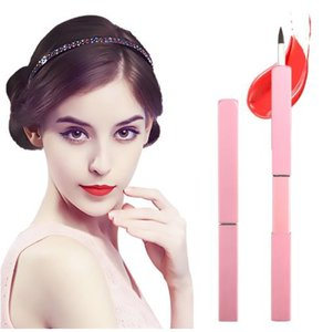 Retractable Lip Brush Portable Metal Handle Makeup Brush Synthetic Lips Make up Tools Branded High Quality pinceis maquiage 2019