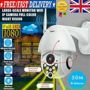 1080P HD WIFI IP-камера БЕЛАЯ беспроводной PTZ телеметрией 4X Увеличить Открытый CCTV Главная Безопасность ИК Сеть Cam 2MP ночного видения