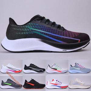 Nike Air Zoom Pegasus 37 Be True 2020 Zapatos para correr para hombres Mujer Zapatillas de deporte Marfil pálido Triple Negro Pure Platium Zapatillas deportivas Tamaño 36-45
