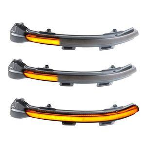 Encienda las luces de señales 2pcs LED LED dinámica intermitente lado de la lámpara de luz de espejo para golf 7 7,5 7 R GTD coche de la luz Dropshipping