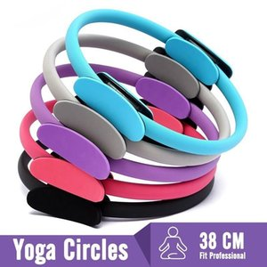Resistência Ladies Anel Professional Yoga Círculo Pilates Sports Magia Academia Ginásio de Esportes Anel Exercício Pilates Acessórios