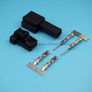 Pin 2 Männlich-weiblich Höhen Stecker, automatische Klang Hochtonhorn Stecker, Lenkungswahl Steckverbinder für Benz, Mercedes-Benz