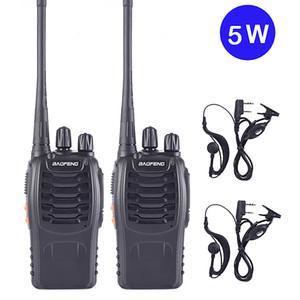 1PC Baofeng bf-888s Walkie Talkie Radio Station UHF 400-470MHz 16CH BF 888s Radio talki walki BF 888s Portable Transceiver