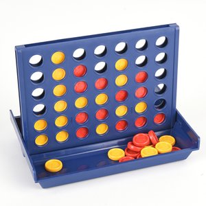 1 Set Sports Entertainment Connect 4 In A Line Board Game Children's Educational Toys for Kid