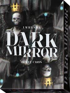 32 PCS Espelho Dark Oracle Cartões baralho de tarô jogo de tabuleiro para Cartomancia Playing Card Games Entertainment