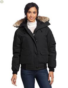 2020 invierno de las mujeres Classic Marca Ocio diseños de chaqueta corta de esquí ganso chaqueta al aire libre Aislamiento Térmico espesado Hardy Mujeres