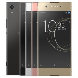 Reformado original Sony XA1 5.0 pulgadas del teléfono celular Octa Core 3 GB de RAM 32 GB ROM 23MP cámara trasera desbloqueado LTE 4G elegante androide libre de DHL 10pcs