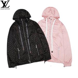 Дизайнерский бренд Old flower ЛОГОТИП ветровка ткань супер мягкий Оригинальные аппаратные настройки Черный розовый M-XXL