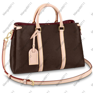 Frauen Handtaschen Portemonnaie Leder Schultertasche Fashion Handtasche Gold-Hardware-Zubehör Damen Reisetasche 44816 Tragetaschen