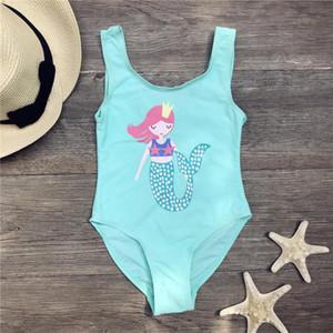 Seagm 3-7 лет русалка один кусок детей купальник купальники для девочек купальники детей купальник слиты блестящий купальник 2019 34