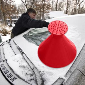 Sihirli Kürek Pencere Buz Temizlik Fırça Açık Kış sıcak satış Araba Aracı Kar Cam 7.5 / 14.5 cm Huni Buz Kazıyıcı