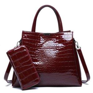 2020 nouveaux sacs à main à main Fashion Crocodile Messenger épaule zi mu bao