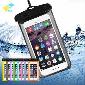 Vitog حقيبة الجافة حالة مضادة للماء كيس من البلاستيك عالمي الهاتف الحقيبة حقيبة حقائب للهواتف الغوص سباحة يصل إلى 5.8 بوصة