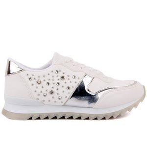 Moxee-Beyaz Renk Kadınlar Günlük Ayakkabılar