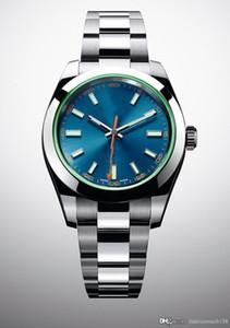 La montre classique faite par le haut maître MILGAUSSm116400 mécanisme automatique 40mm en acier inoxydable Montre mode hommes