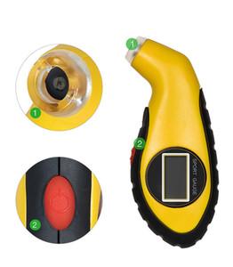 High Precision Car Tire Pressure Gauge Car Diagnostic Pressure Monitor Portable Car Motorcycle Air Pressure Tester E002