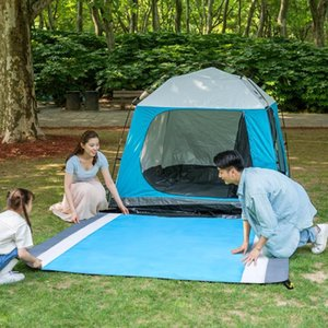 2.1*2M Portable Picnic Mat Waterproof Beach Mat Pocket Blanket Camping Tent Ground Mattress Outdoor Camping Sleeping
