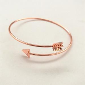 3 Farben-Legierung Armbänder für Mädchen Adjustable Öffnen Pfeil-Armband-Armband-Armband-Mädchen Schmuck Zubehör M823