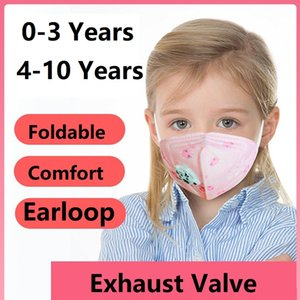 Wholesale Children Kids Cartoon Pm2.5 Graphic Disposable Mask Anti Dust Mouth Muffle Respirator Face Masks