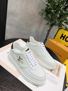 Top Quality Men Women Platform Leisure Shoe fashion luxury designer women shoes Leather Louisfalt Spikes Casual Shoes Designer Shoes G-3