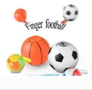 2018 Nova Mão Spinner Basquetebol Futebol Fidget Spinner crianças Adultos Anti-Stress Toy Spinner Com Whistle DHL grátis