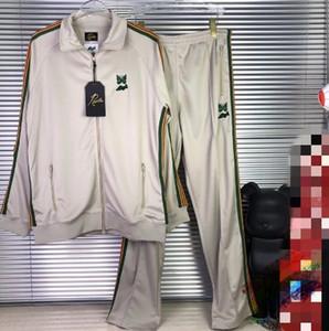 Brasão Japão Streetwear Casacos Calças fita listrada de damasco Homens Mulheres 1 Bordados