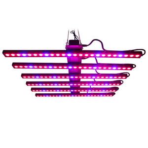 8 в 1 1.2M LED Grow Light Bar Соберите фактическую мощность 520 Вт Полный спектр Внутренняя оранжерея Гидропонная лампа для выращивания растений